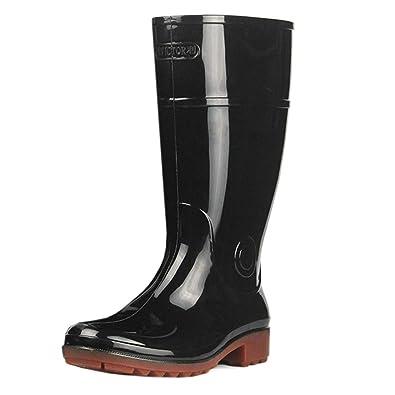 Huatime Caoutchouc Chaussures Imperméable Wellington Homme