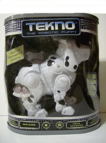 Tekno The Robotic Puppy - Special Dalmatian Edition Manley Toy Quest 14606