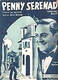 Sheet Music Guy Lombardo Penny Serenade 106
