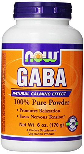 NOW Foods Gaba Pure Powder, 6 Ounces (Pack of - Pure Gaba Powder