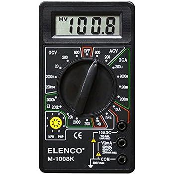 amazon com elenco digital multimeter solder kit   soldering required   automotive innova 3320 manual download innova 3320 manual download