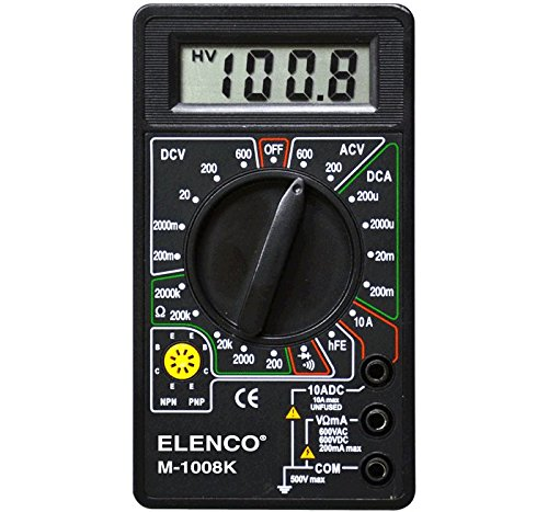 Elenco M-1008K - Digital Multimeter Solder Kit | Lead Free Solder | Great STEM Project | Soldering Required by Elenco (Image #8)