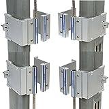 Nascom N505AUTMC/ST Overhead Door Rail (3'') Mount Magnet/Switch Set Featuring No Dead Spot