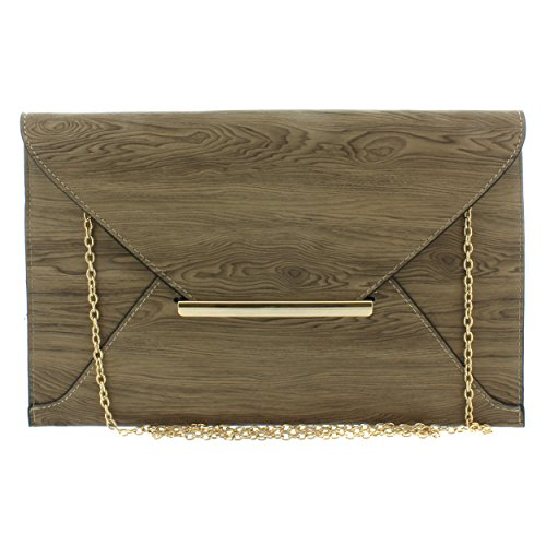 gner Signature Envelope Clutch (brown) (Gucci Brown Hobo)