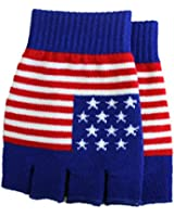 JTC Belt Unisex Half Finger Stretchy Fingerless Gloves One Size Fits Most (Many Color/Styles)