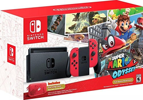 Nintendo Switch - Super Mario Odyssey Edition]()
