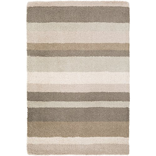 angelo:HOME by Surya Madison Square MDS-1010 Transitional Hand Loomed 100% Wool Ice Blue 2' x 3' Geometric Accent Rug