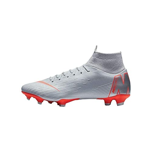 3e10bd85d76 Nike Mercurial Superfly 6 Academy FG Soccer Cleats White/Grey ...