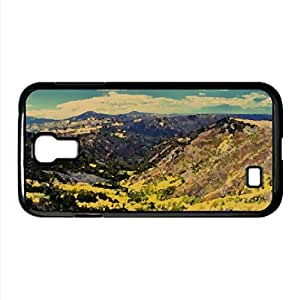 Forested Valley, Autumn Watercolor style Cover Samsung Galaxy S4 I9500 Case (Autumn Watercolor style Cover Samsung Galaxy S4 I9500 Case)