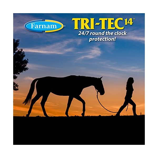 Farnam Tri-Tec 14 Fly Repellent Spray for Horses with Sunscreen 5