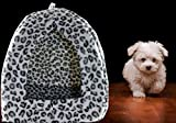 Hamiledyi Tent Bed for Pets   Cozy Kitty Tent Igloo   Pet Warm Bed
