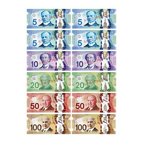 Dollar Die (Ashley Productions Multicolor Canadian Dollar Die-Cut Magnet)
