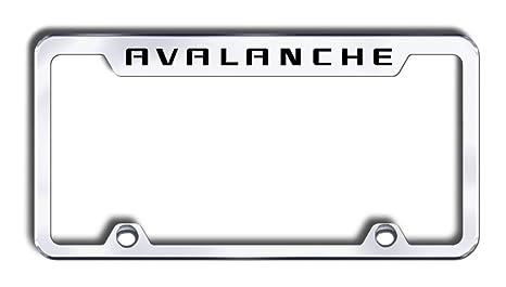 Amazon.com: Chevy Avalanche License Plate Frame: Automotive