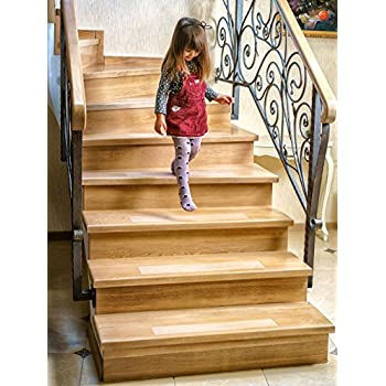 Kenley Non Slip Stair Treads 10 Pack Clear Step Strips 4