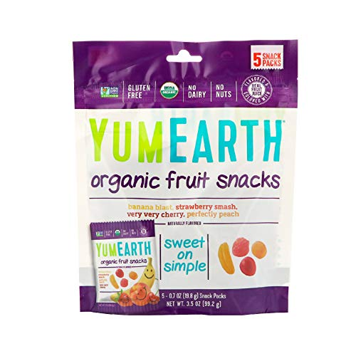YumEarth Organic Fruit Snacks, 0.7 Ounce, Pack of 5 ()