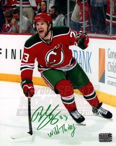 wholesale dealer d301a 1d2bc Bobby Farnham New Jersey Devils Signed Autographed Throwback ...