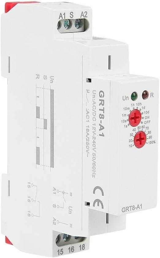 GRV8-01 GRV8-01 Relais de surveillance Protection de tension monophas/ée Relais de surveillance Protection contre la surtension A220