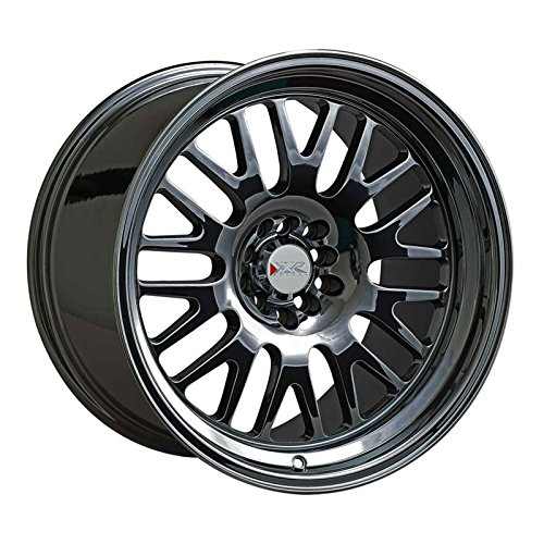 XXR Wheels 531 Black Wheel with Machined Finish and Machined Lip (16x9