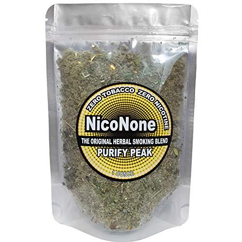 NicoNone Herbal Blend 1oz Refill Bag (PURIFY Peak)