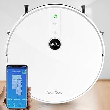 Amazon.com: Pure Clean Robotic Aspirador – Robot de limpieza ...