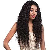 Water Wave Human Hair Lace Front Wigs 130%...