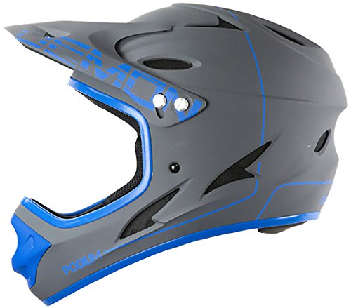 Demon United Podium Full Face Helmet Grey/Blue XL -