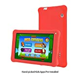 AOSON M753-S1 7 Inch kids Tablet PC, Android 6.0 Marshmallow Quad-core, IPS HD Touch Screen, 1GB RAM 16GB Storage, Kids APPS Iwawa Kidoz Dual Camera Bluetooth Wi-Fi Supported