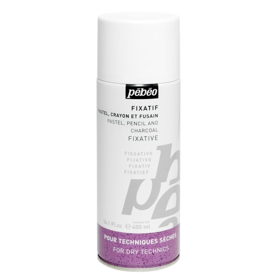 Pebeo Extra Fine Pastel, Pencil and Charcoal Fixative - 400 ml Spray: Amazon.in: Office Products
