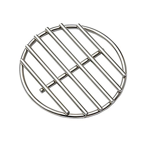 Onlyfire Stainless Steel High Heat Charcoal Fire Grate for Small and Mini Big Green Egg Grill, 5.6-Inch