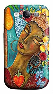 Cool Art Finding Paradise Hard Plastic Back 3D Case Cover for Samsung Galaxy S3 I9300 (526 art) _626018