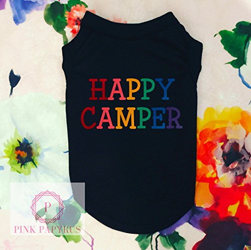 Happy Camper Dog Shirt by Pink Papyrus Co.