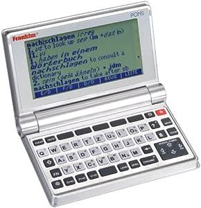 Franklin Pons PSW-475 - Diccionario electrónico