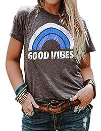 Plus Size Women Tops Short Sleeve T Shirts Casual Tee Shirts Cute Graphic Tunic