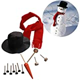 Smartcoco Christmas My Own Snowman Decorating Kit, 13 Pieces Included