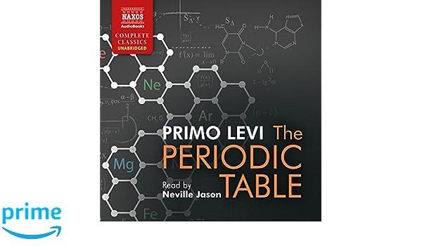 The periodic table primo levi 9781843799962 amazon books urtaz Choice Image
