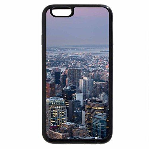 iPhone 6S / iPhone 6 Case (Black) manhattan looking towards queens