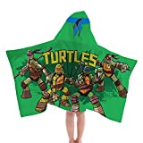 Nickelodeon Teenage Mutant Ninja Turtles Fiber Resistant Hooded Towel