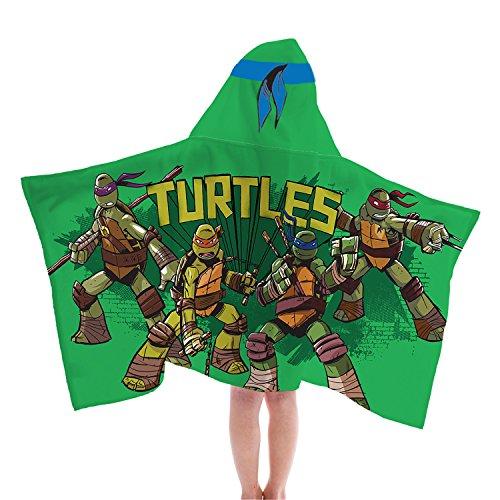 Jay Franco Nickelodeon Teenage Mutant Ninja Turtles Fiber Resistant Hooded -