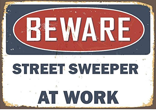 street sweeper vintage antique looking
