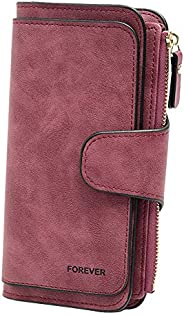 Ladies Wallet Women Leather Clutch Purse Credit Card Coin Holder Bifold