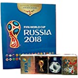Panini Russia 2018 Hard Cover Album + All Sticker Collection International Version