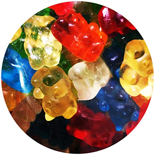 Gourmet Kruise Gummy Bears (Halal) Gummi Bears , (Kosher Parve) Mixed Assorted Flavors 2.2 Pounds
