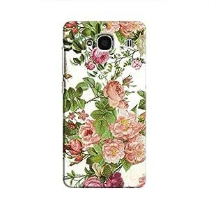 Cover It Up Flower Garden Hard Case For Xiaomi Redmi 2, Multi Color