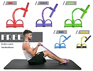 Amazon.com : Resistance Ftiness Band Yoga Sports Equipment ...