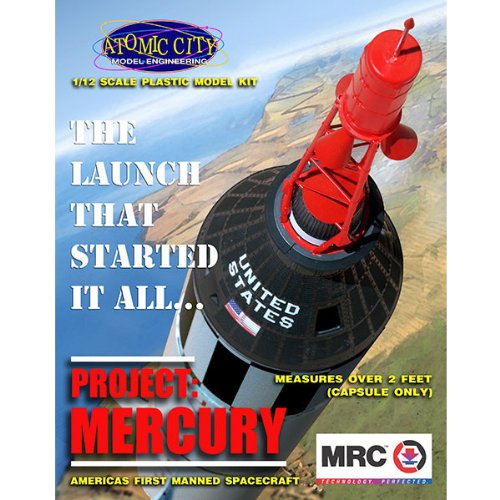 Mrc # 62001/1//12/Project Mercury Model kit Manned Space Orbiter