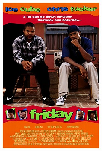 Friday Movie Poster 1995