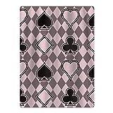 DEFFWBb Casino Poker Seamless 100% Polyester Teenagers Beach Towels Unisex Pool Towel