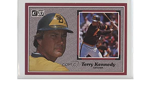 Amazoncom Terry Kennedy Baseball Card 1983 Donruss Action All