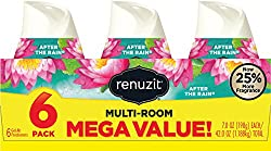Renuzit Adjustable Air Freshener Gel, After The Rain, 7 Ounces (6 Count)