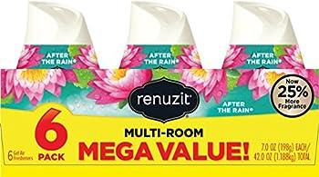 Renuzit Adjustable Air Freshener Gel, After The Rain, 7 Ounces (6 Count) 0